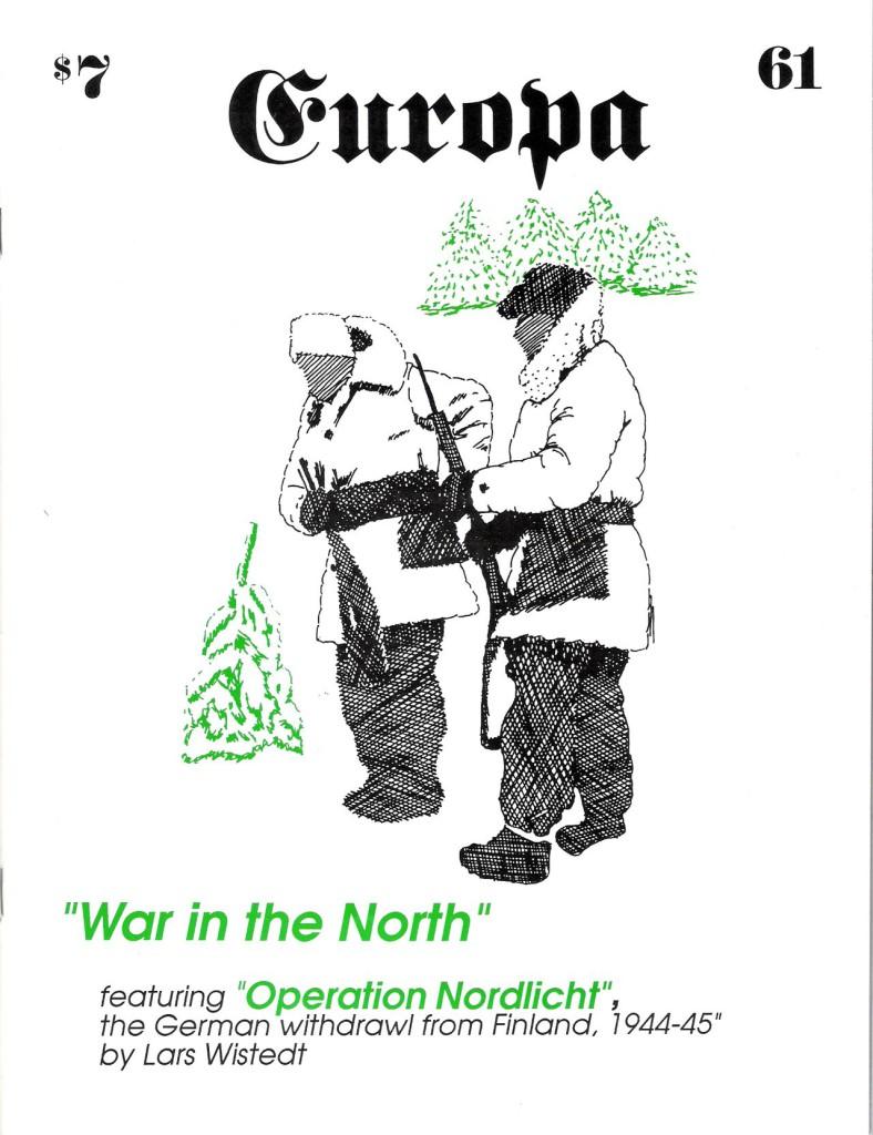 The Europa Magazine #61 - Cover