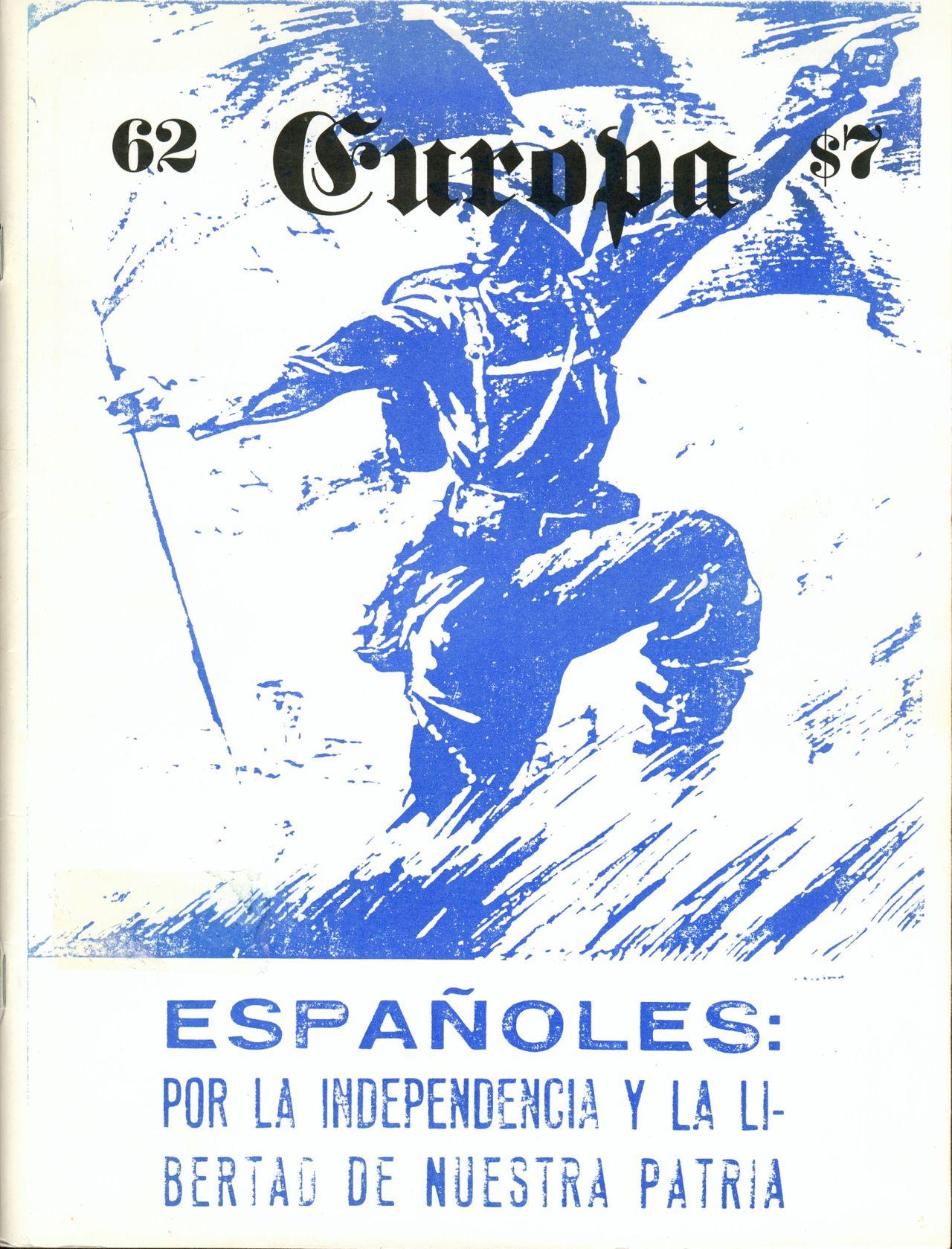 The Europa Magazine #62 - Cover