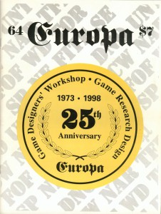 The Europa Magazine #64 - Cover