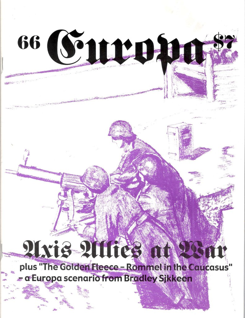 The Europa Magazine #66 - Cover