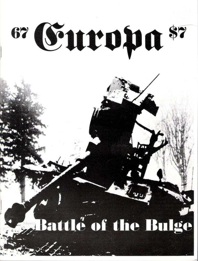 The Europa Magazine #67 - Cover