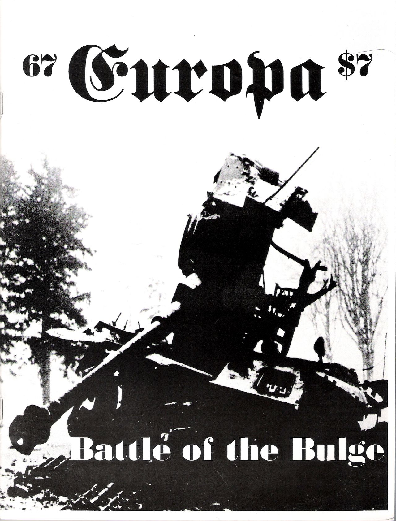 The Europa Magazine #67 - Cover