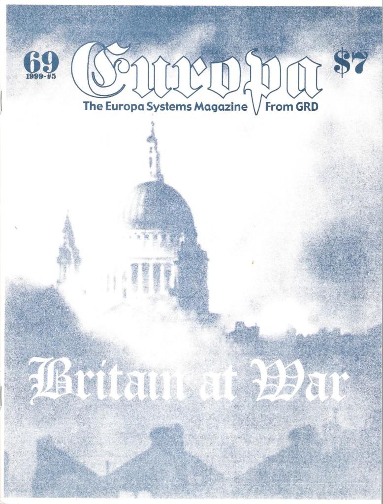 The Europa Magazine #69 - Cover