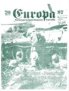 The Europa Magazine #70 - Cover