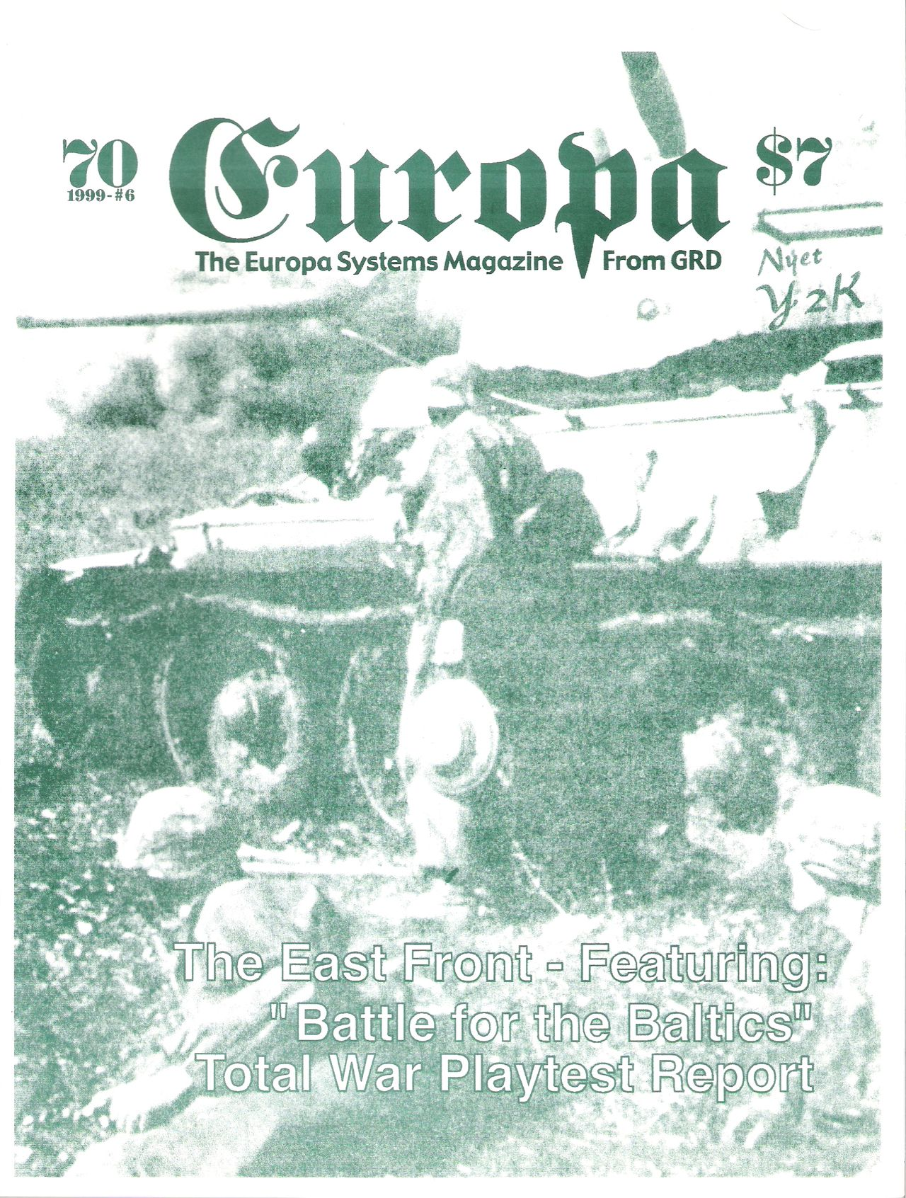 The Europa Magazine #70 - Cover