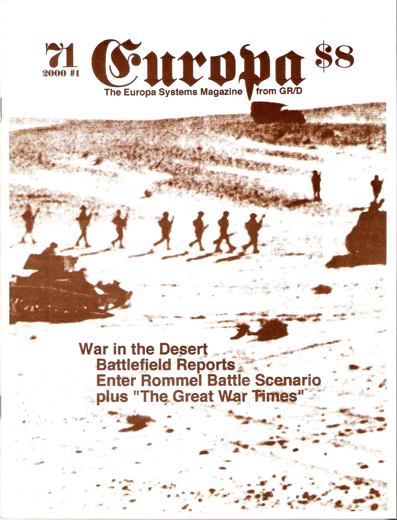 The Europa Magazine #71 - Cover