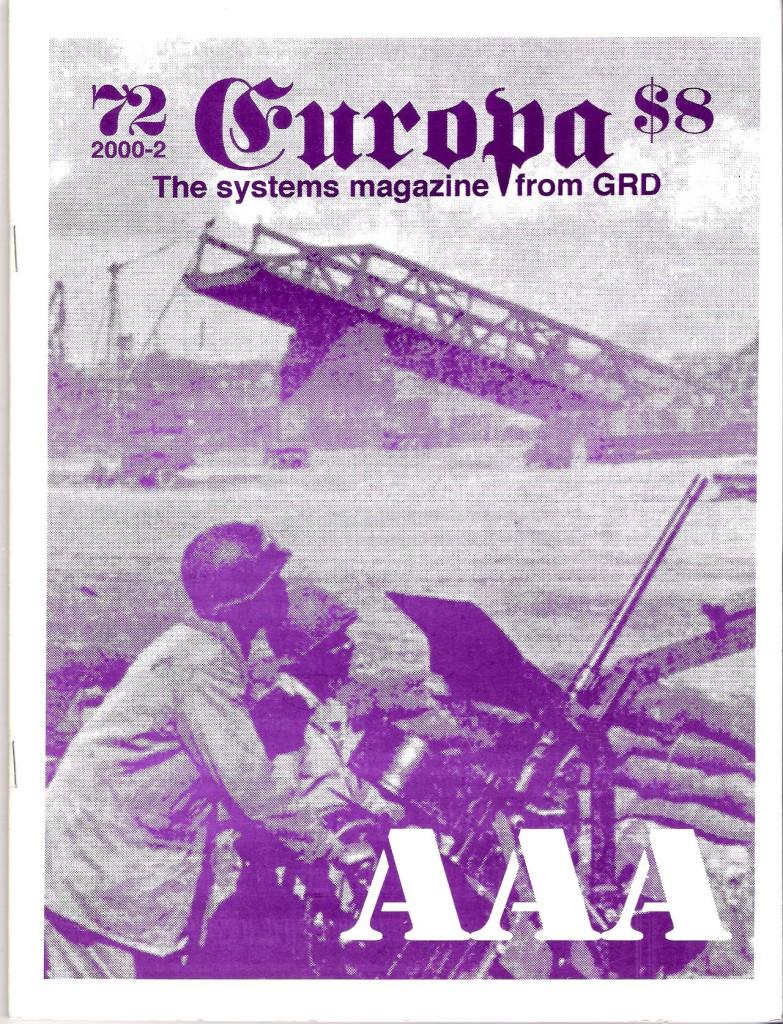 The Europa Magazine #72 - Cover
