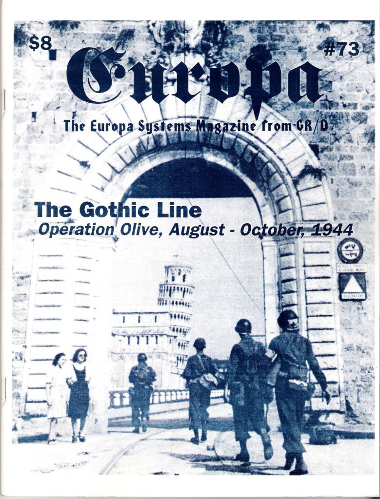 The Europa Magazine #73 - Cover