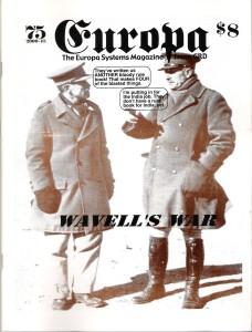The Europa Magazine #75 - Cover