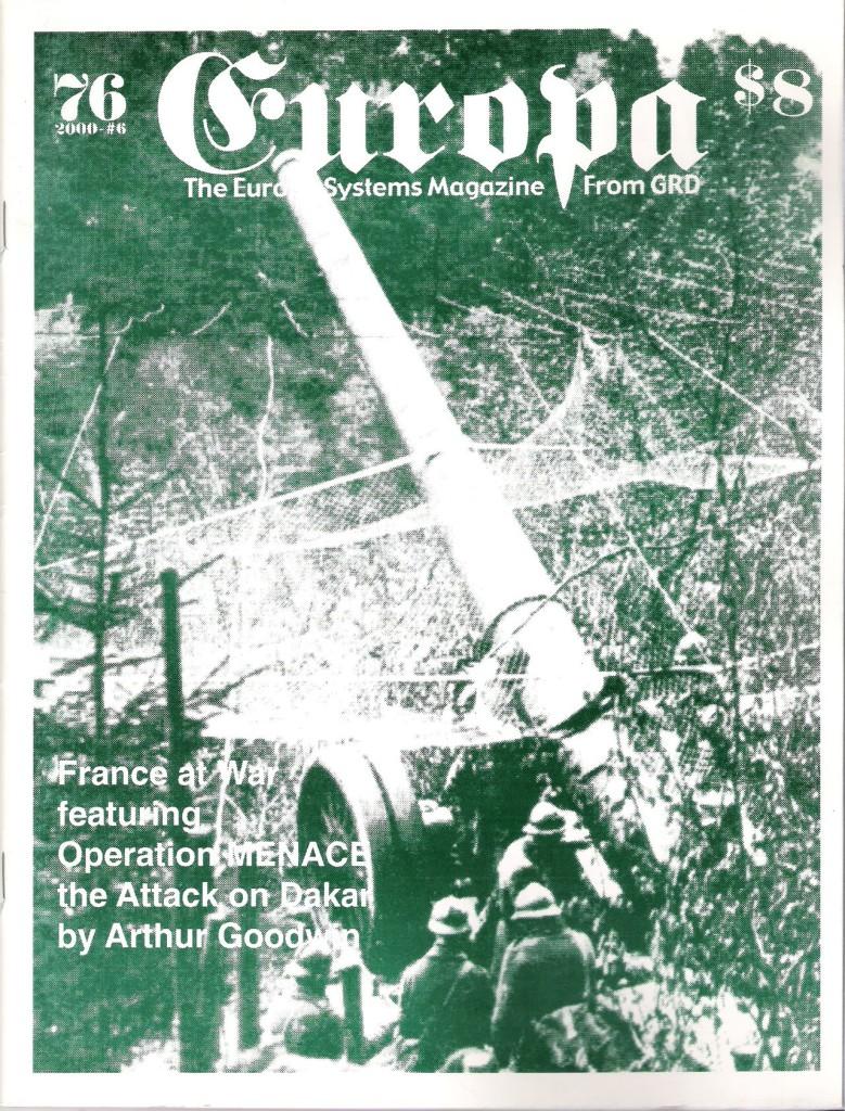 The Europa Magazine #76 - Cover