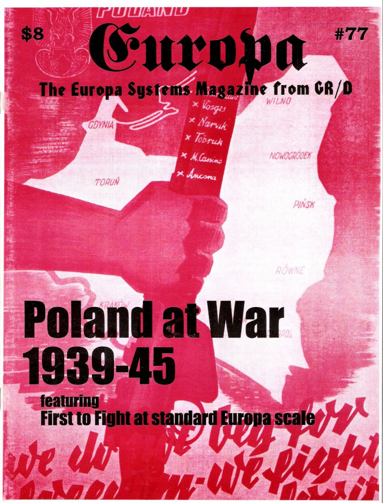 The Europa Magazine #77 - Cover