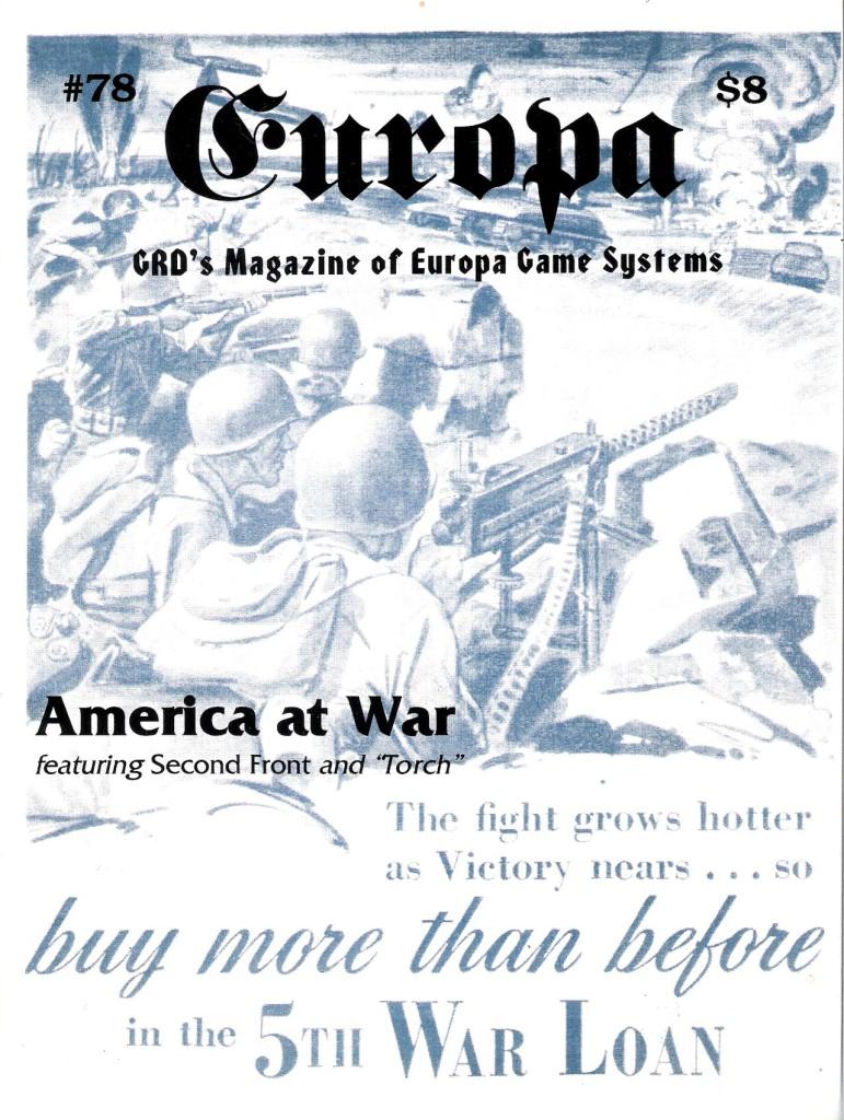 The Europa Magazine #78 - Cover