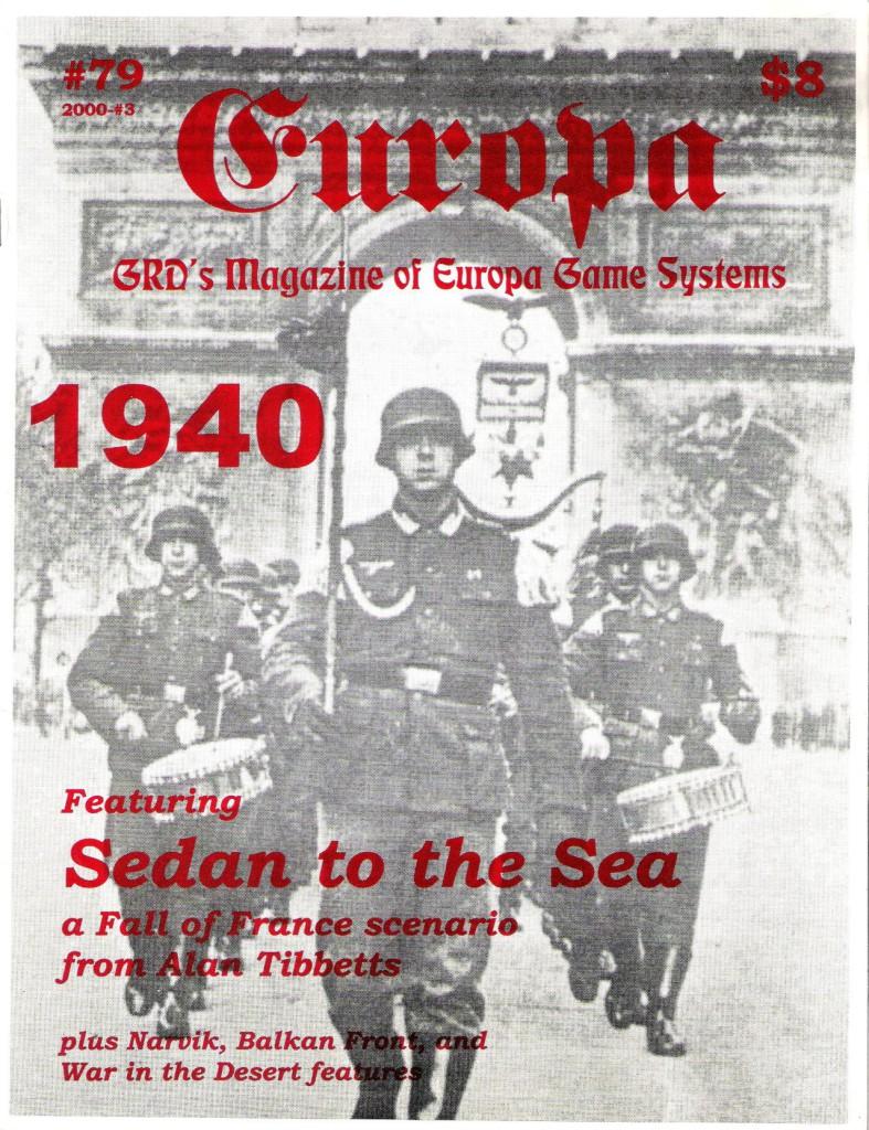 The Europa Magazine #79 - Cover