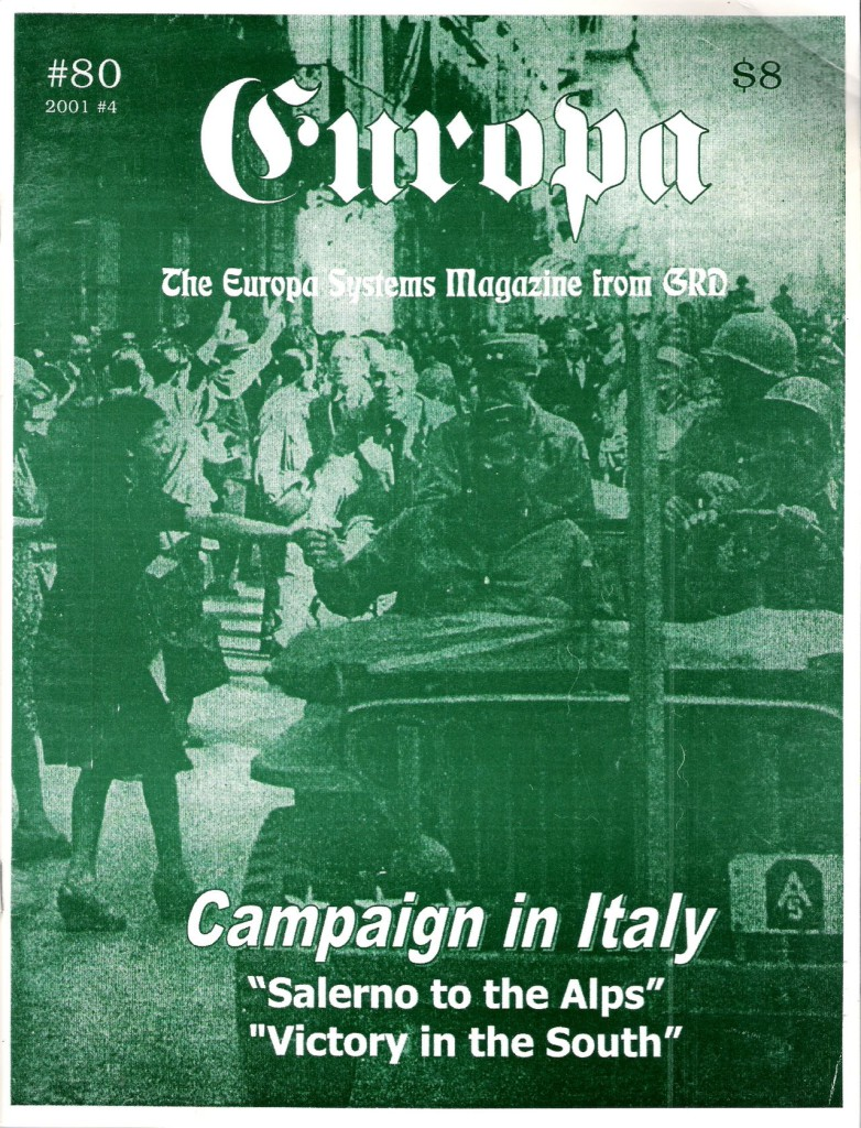 The Europa Magazine #80 - Cover