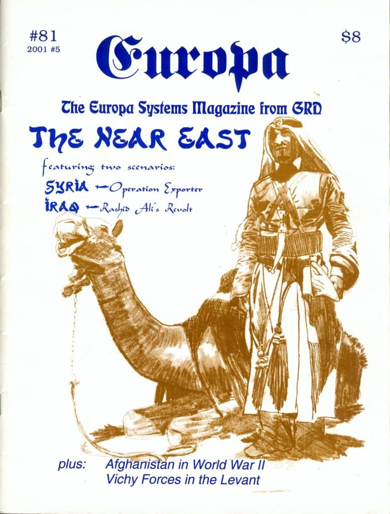 The Europa Magazine #81 - Cover