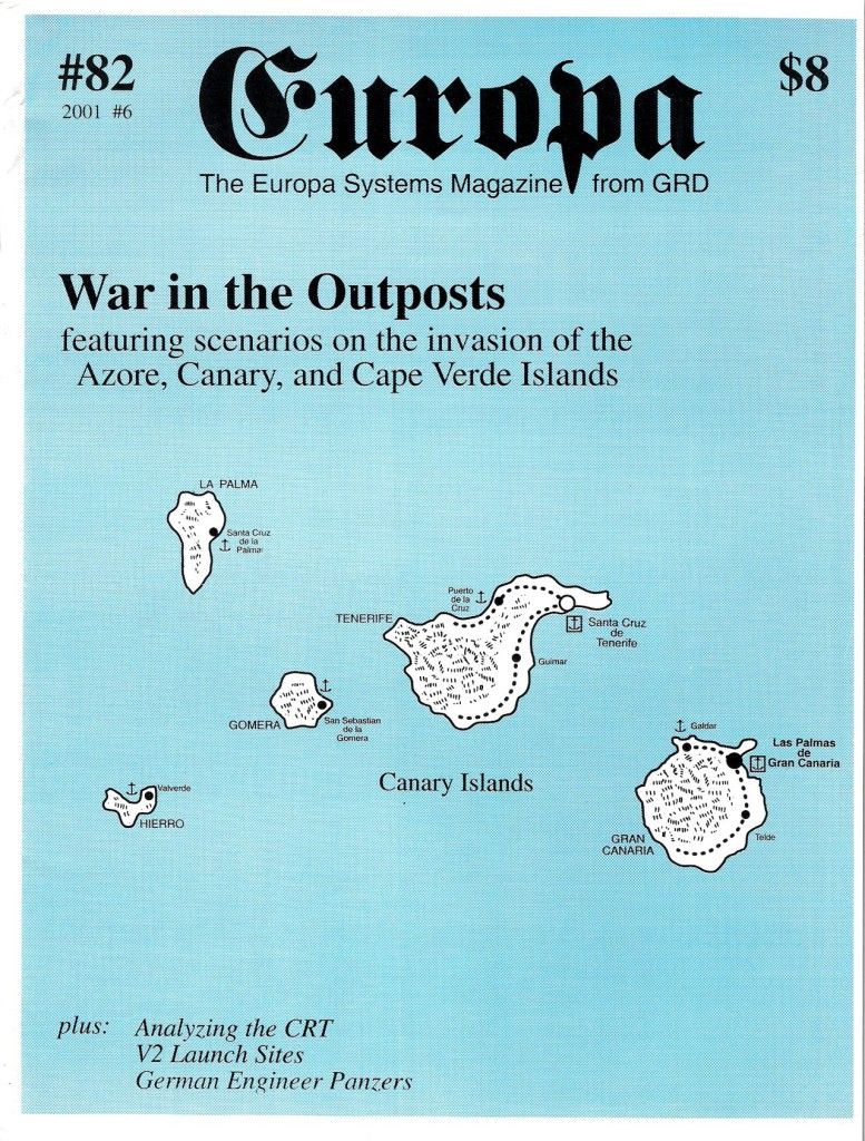 The Europa Magazine #82 - Cover