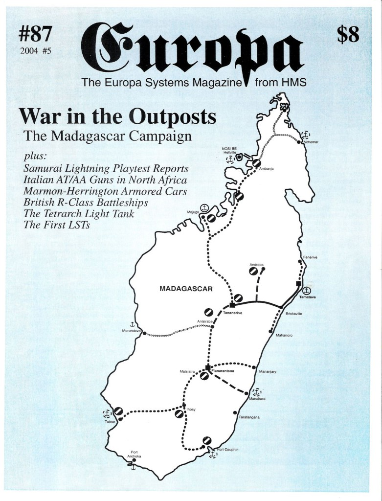 The Europa Magazine #87 - Cover