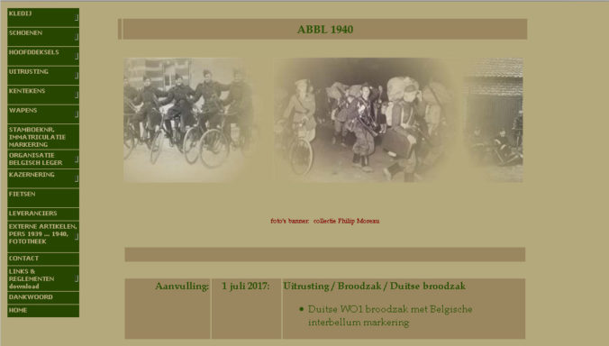 Screenshot of www.abbl1940.be