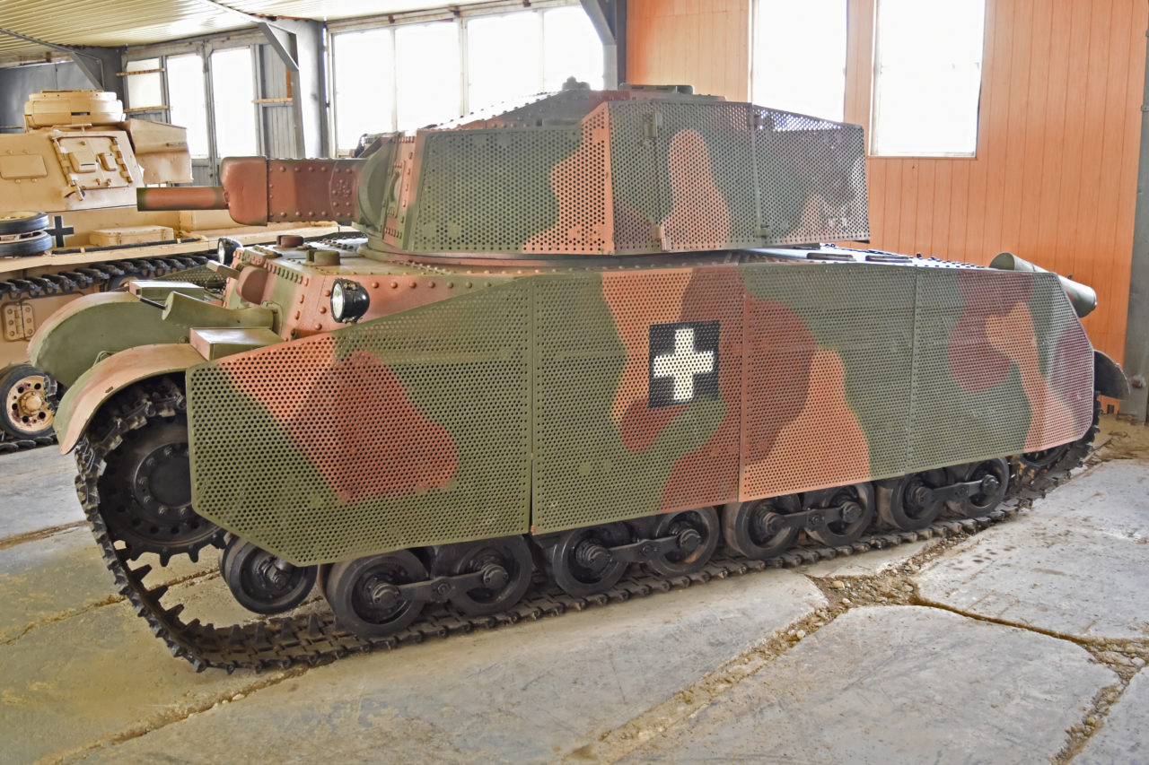 41M Turán II – Hungarian Medium tank at Kubinka Museum. Credit: Alan Wilson, 2012