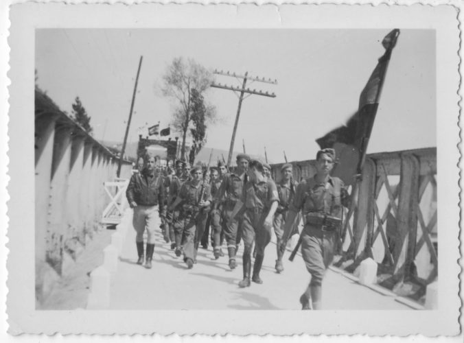Nationalist Troops enter Soto de Barco, June 1936