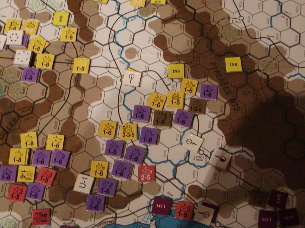 FWtBT No 04 - OCT I 36 Tactical view of republican push up the Ebro valley