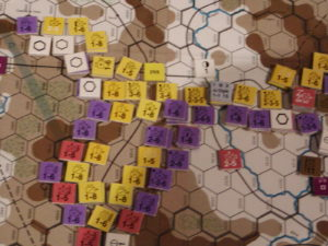 FWtBT No 4 - DEC II 36: Tactical view: Teruel defenders supply line cut.