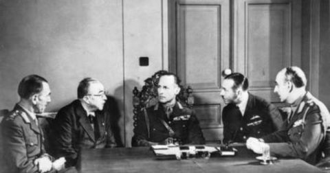 Anglo-Greek War Council, January 1941