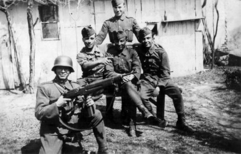 Hungarian soldiers in the Carpathians 1944. Image: family archive Slobodsky