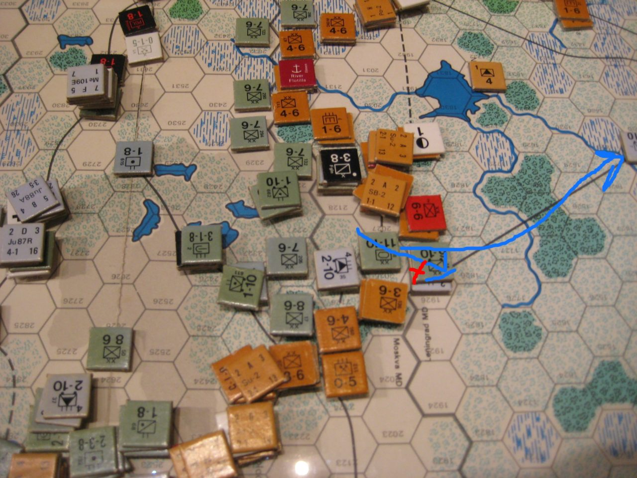 SE AAR 01 - 1941 Oct I Axis Combat Phase