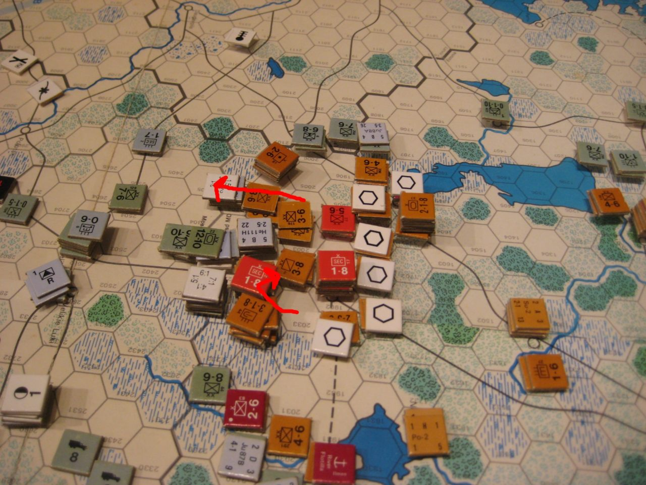 Soviet Feb I 1942: The Soviet Steamroller advances