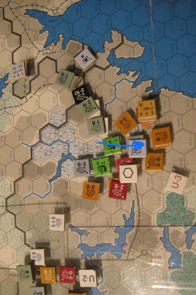 Axis Feb II 1942: Murmansk cut off