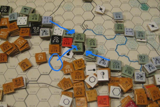 Axis Feb II 1942: Breakout of encircled Axis Armored Corps
