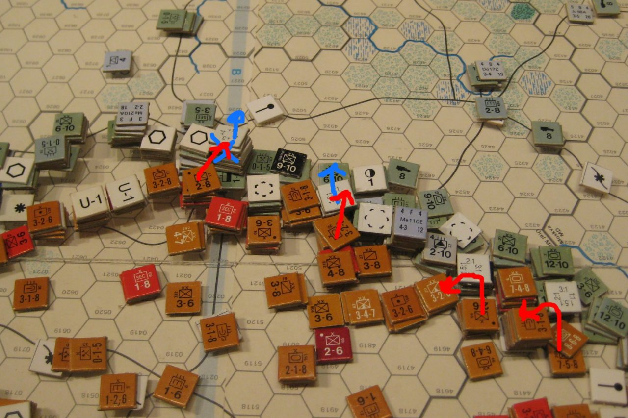 Feb II 42 Soviet Turn: The Soviet winter offensive finally recaptures Kursk