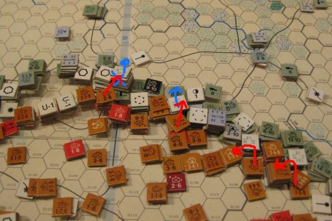 Feb II 42 Soviet Turn: The Soviet winter offensive finally recaptures Kursk