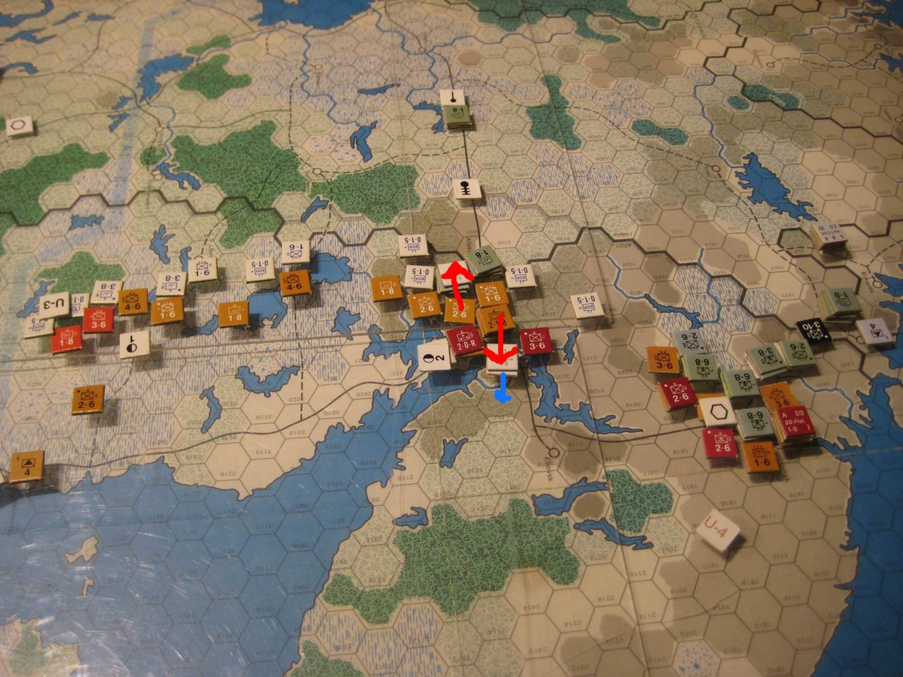 Feb II 42 Soviet Turn: The Soviets reestablish a connection to Murmansk