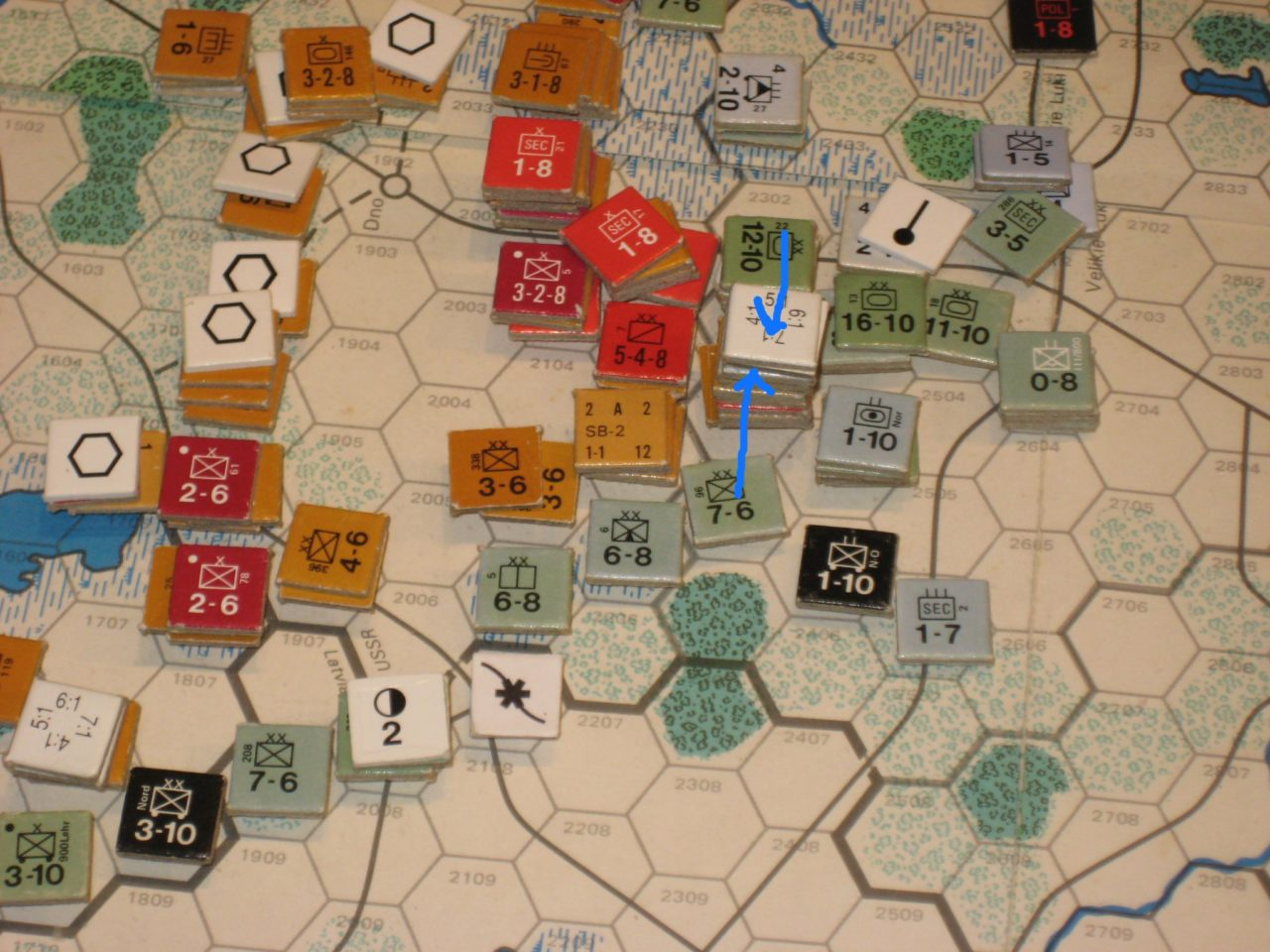 MAR I '42 Axis Turn: Soviet advance checked NW of Veliki Luki