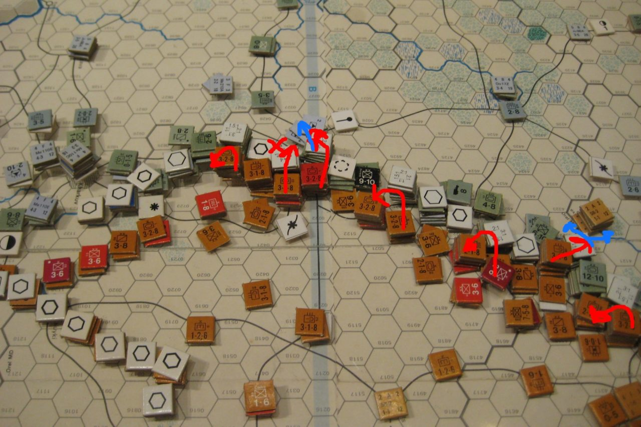 Soviet Mar I 42: Battles of Attrition along the Central Front.