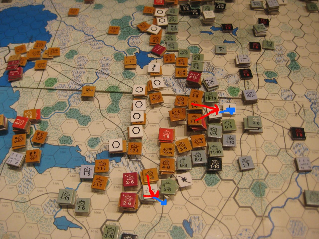 Soviet Mar I 42: Soviet winter offensive slowly pushes Germans back into the Baltic