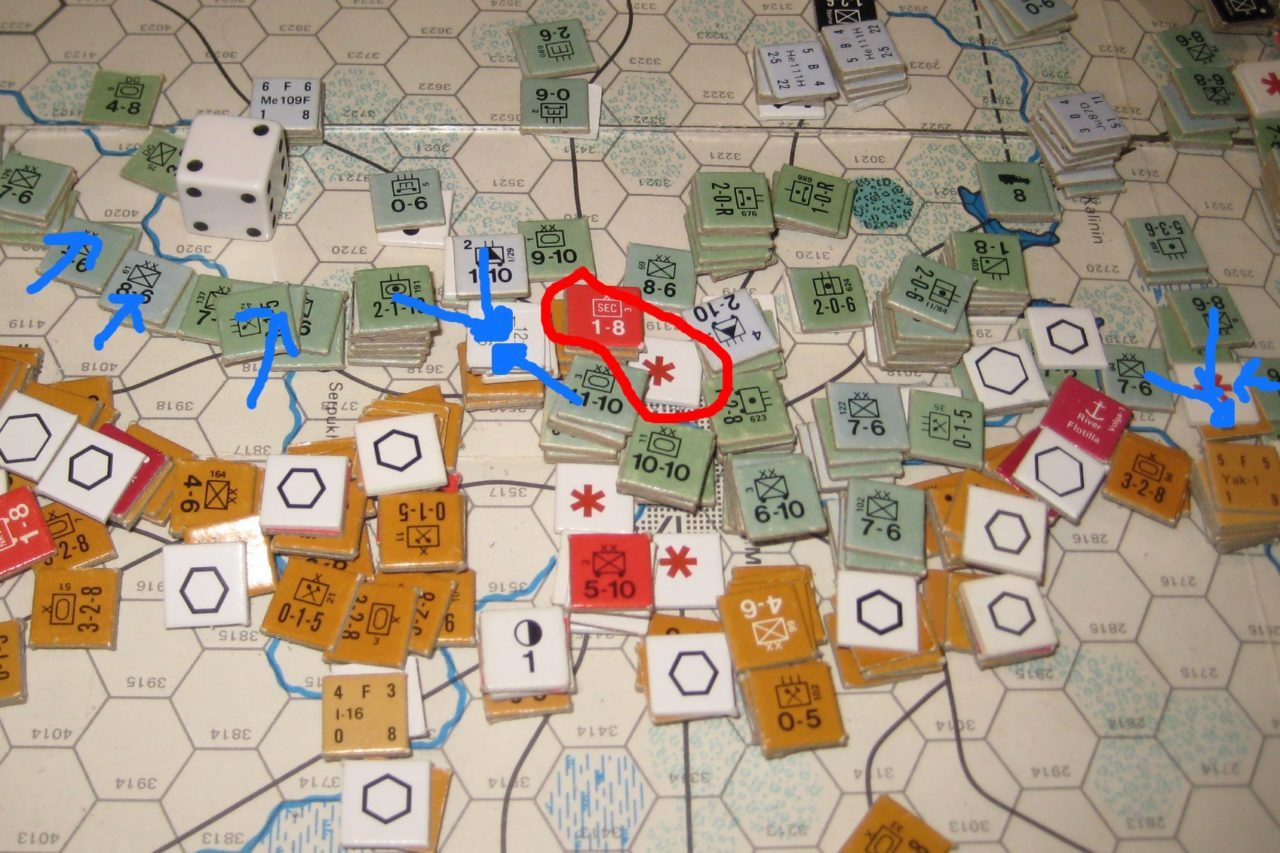 SE AAR 01 Mar II '42 Axis Turn: Axis expands the Kalinin breach. (c) Ken Newall, 2019