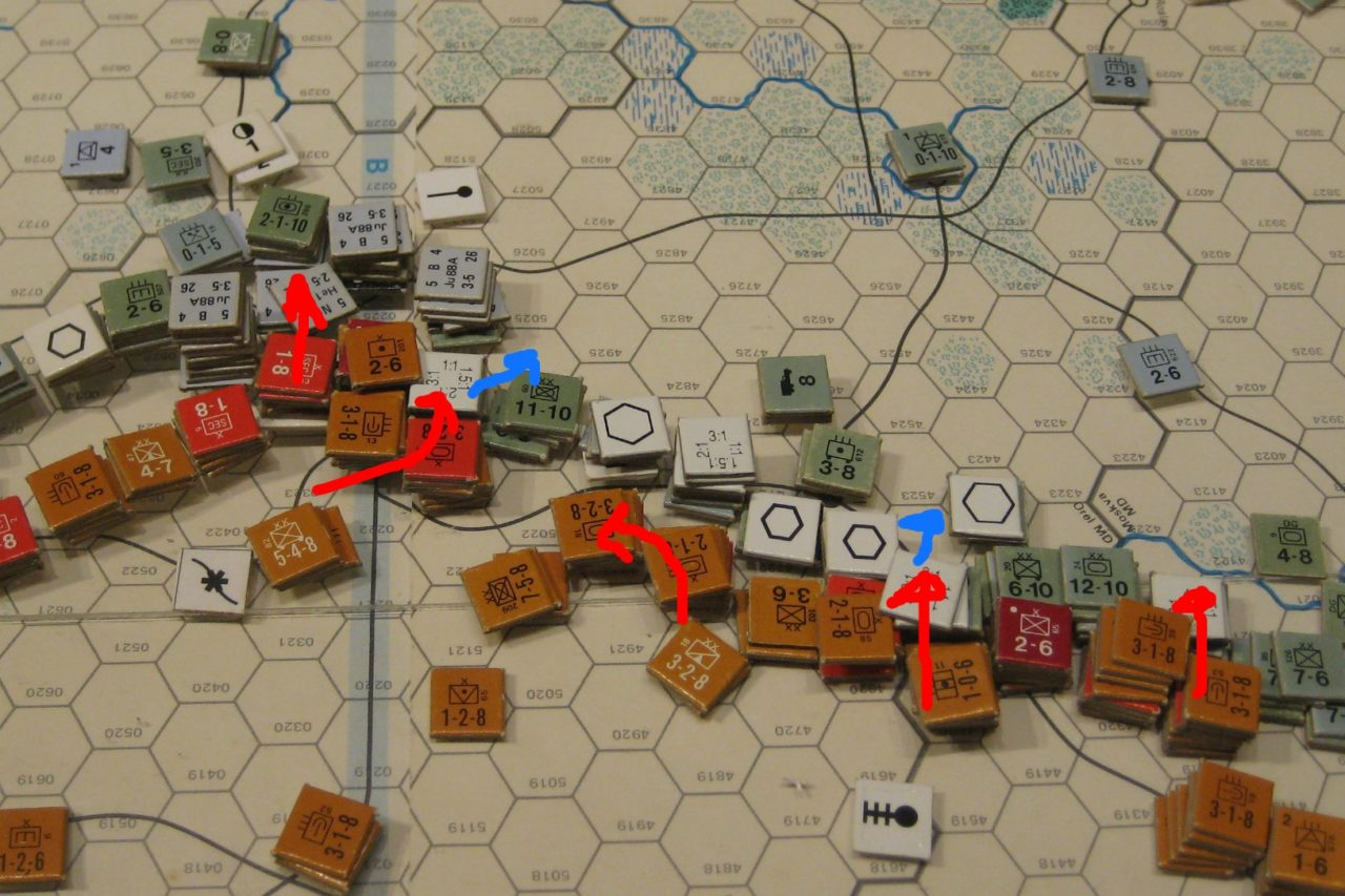 Mar II Sov 1942: Soviet attacks along the main front as the winter offensive slowly peteres out