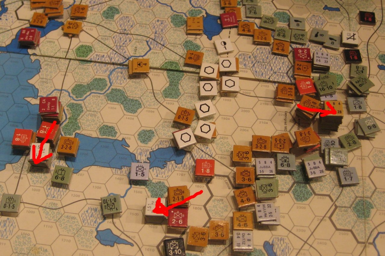 Mar II Sov 1942: Soviets push into the Baltics