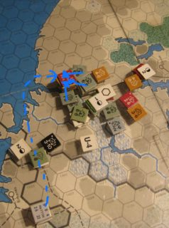 Apr I 42 Turn: The Axis take Murmansk