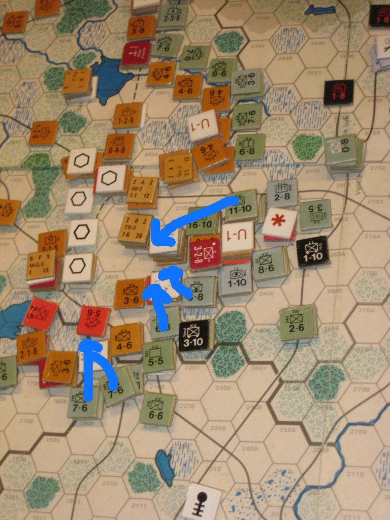 May I '42: Local Attacks by the Axis in the Central Sector
