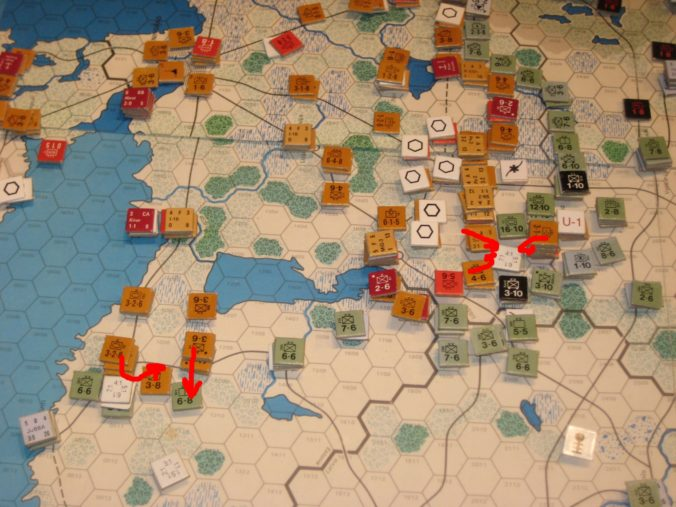MAY I '42: Failed breakout of encircled Soviet troops in the North
