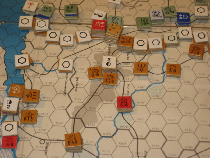May I 42: Sourthern Front reinforces its defensive lines