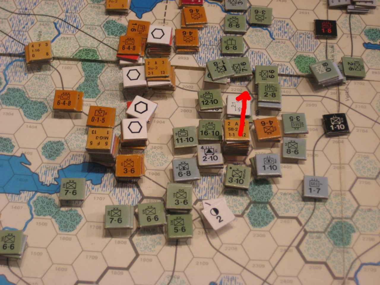 '42 May II: Soviet breakout attempt south of Leningrad