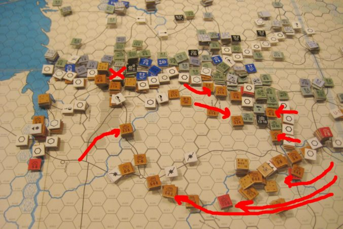 Soviet Turn: The Southern Front moves to contain the Axis assault