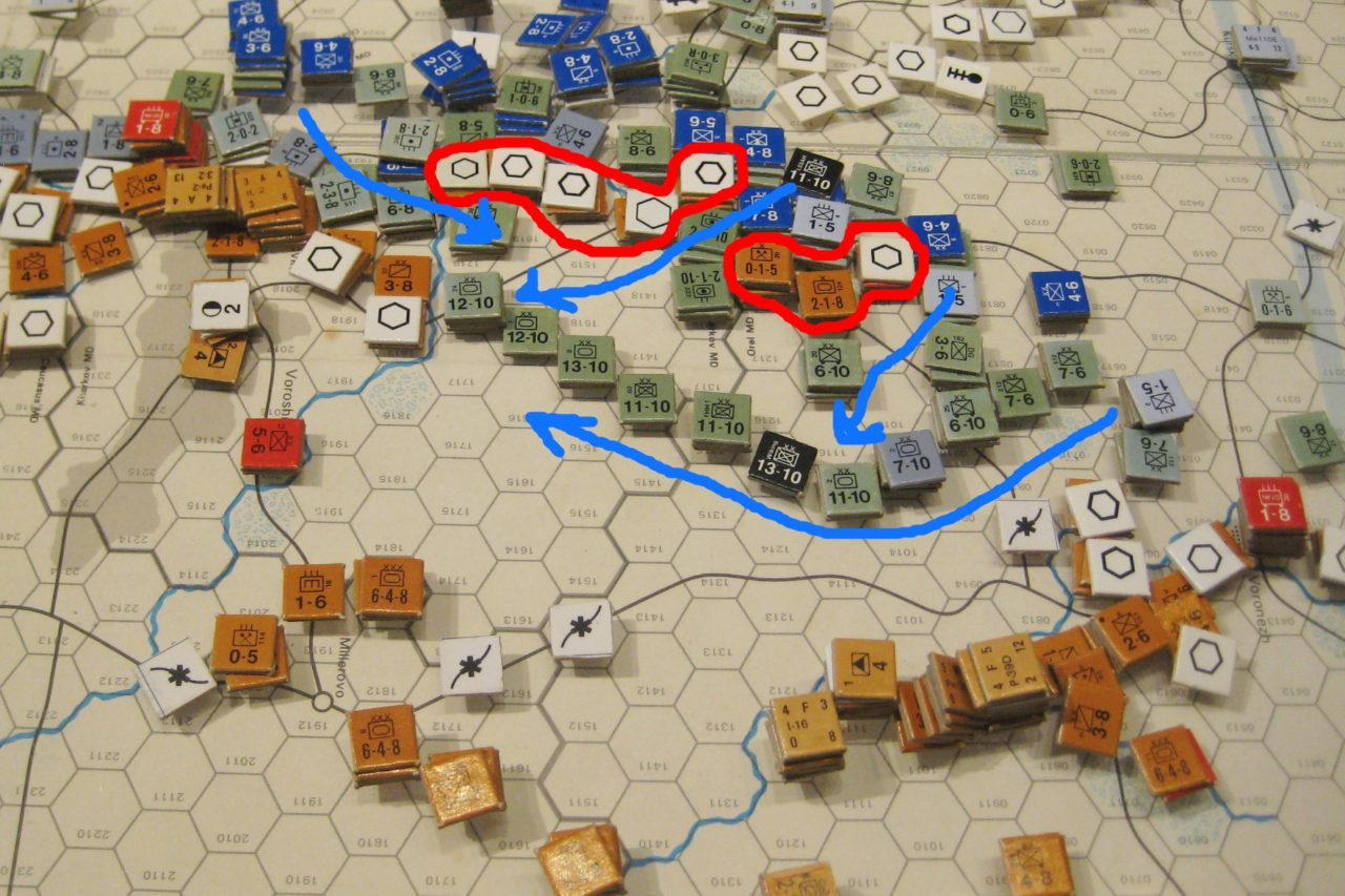 Jun II '42 Axis Turn: Disaster befalls the Southern Front
