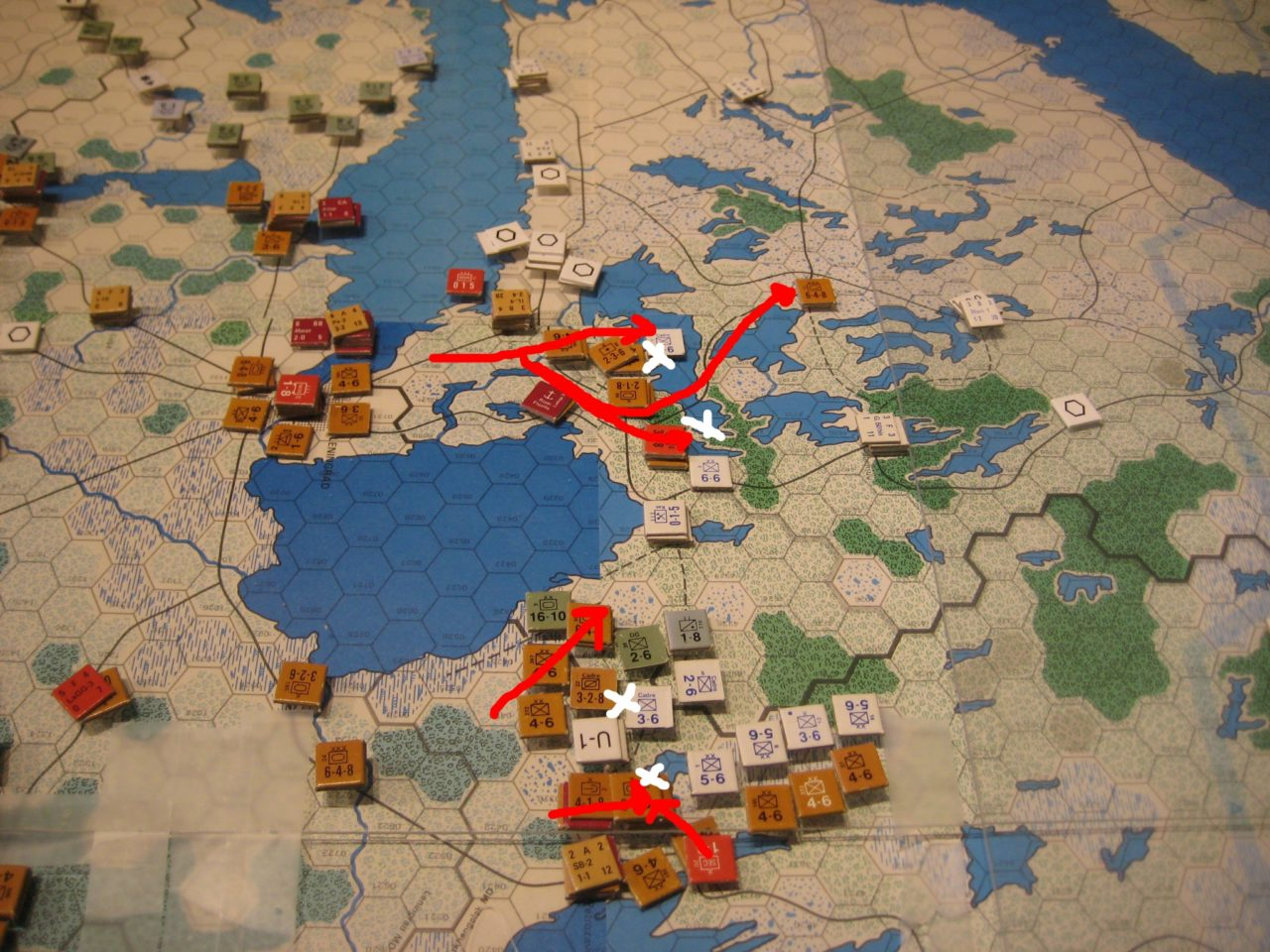 1942 JUN II Soviet Turn: Battles in the North