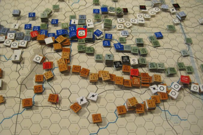 Axis forces consolidate in the South
